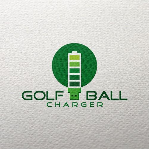 Logo for golf