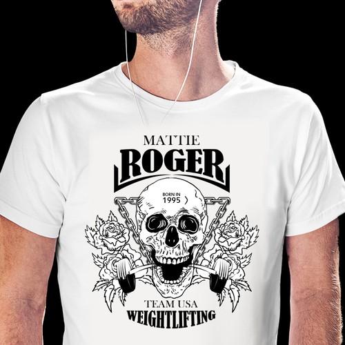 T-shirt Weightlifting