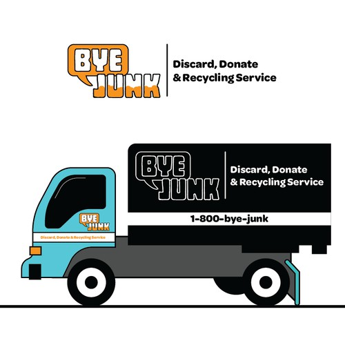 Simple Yet Bold Logo Design for a New Recycling/Junk Business!