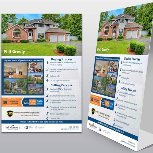 Create a Real Estate Open House display sign