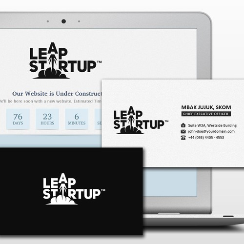 NEED Creative Designers: Leap Startup (new logo)