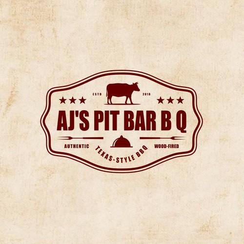AJ's Pit Bar B Q - Rebrand of our BBQ restaurant