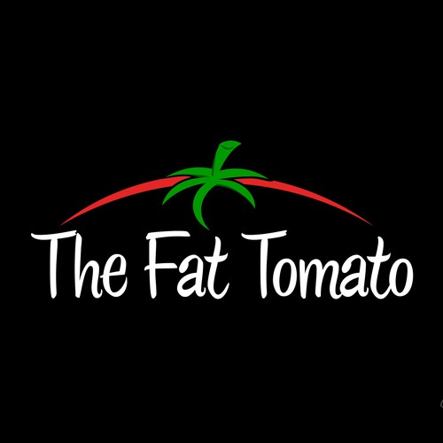 Create the next logo for The Fat Tomato