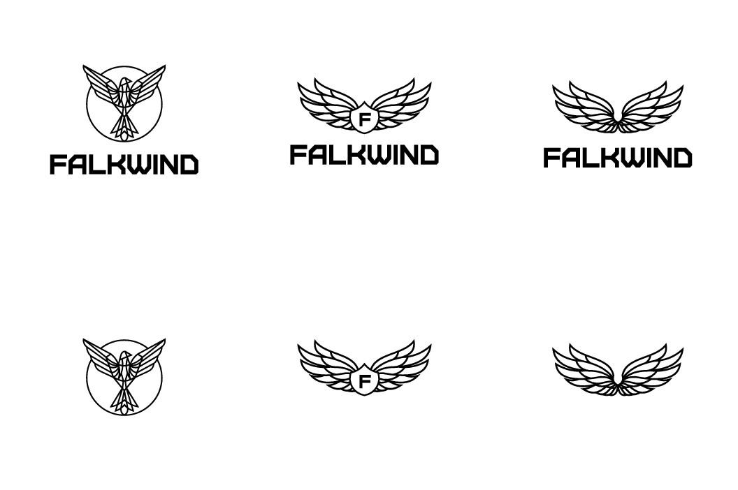 Falkwind Clothing Logo Redesign