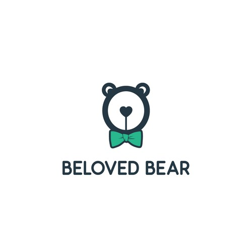 Logo for handmade teddy bear crafting shop