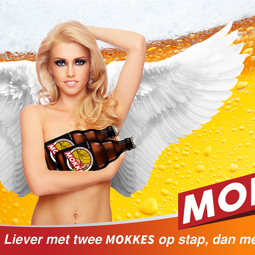 Poster Design for MOKKE bier