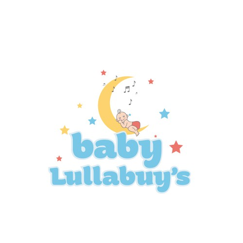 Bold logo for babies clothes store