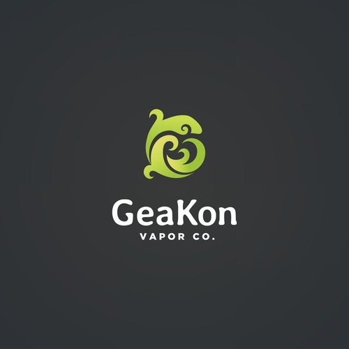 Logo for Geakon vapor.