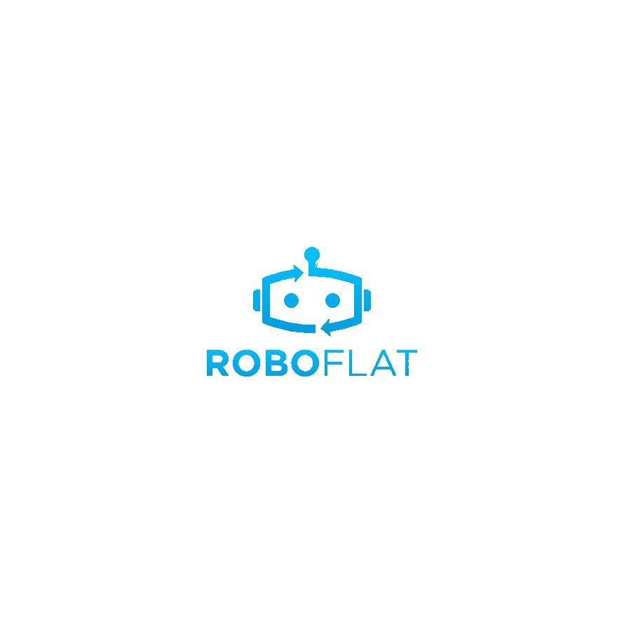 roboflat sucht ein Logo für seine Robotervermietung