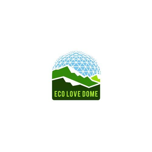 Logo concept for Eco Love Dome