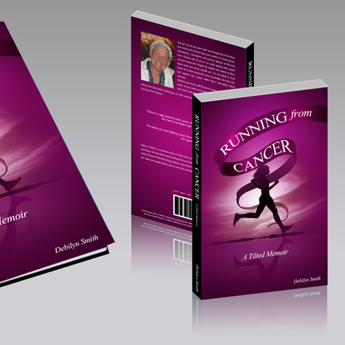 "Book Cover for Debilyn Smith ""Running from cancer"""