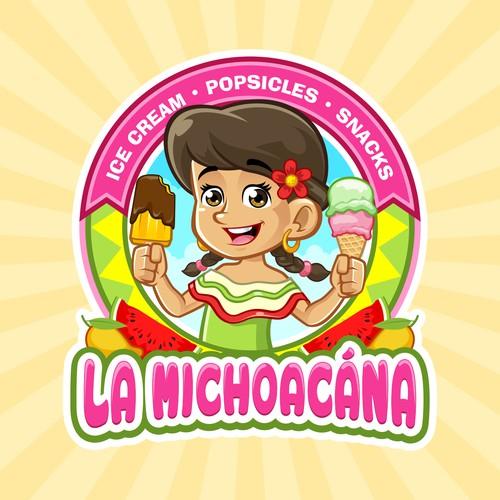 La Michoacana Logo Design