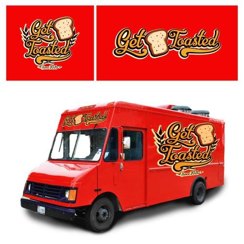Food Truck Logo Designs
