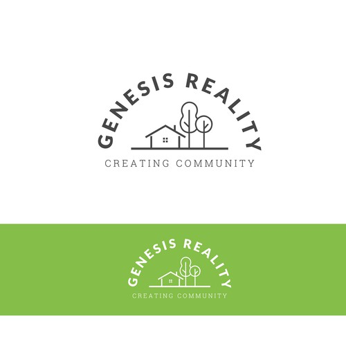 Logo redesign for a Real Estate Company