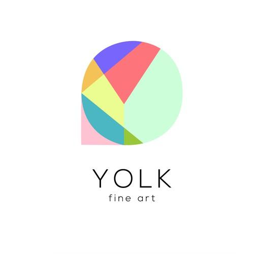 Logo concept for on-line art dealer