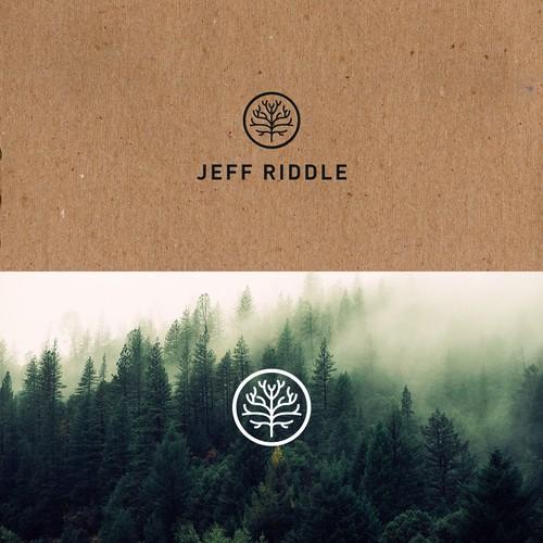 Logo design for Jeff Riddle