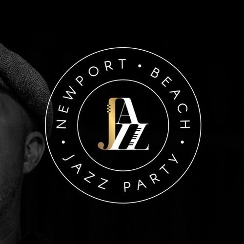 Classic logo for jazz festival