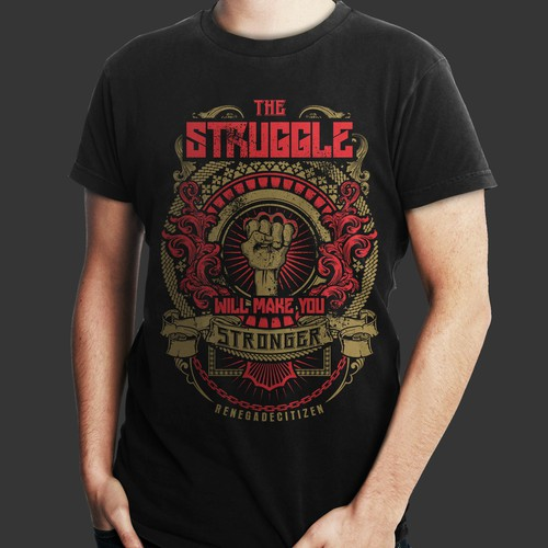 Shirt design for renegade citizen