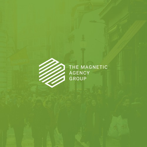 Creative Logo Design for The Magnetic Agency Group