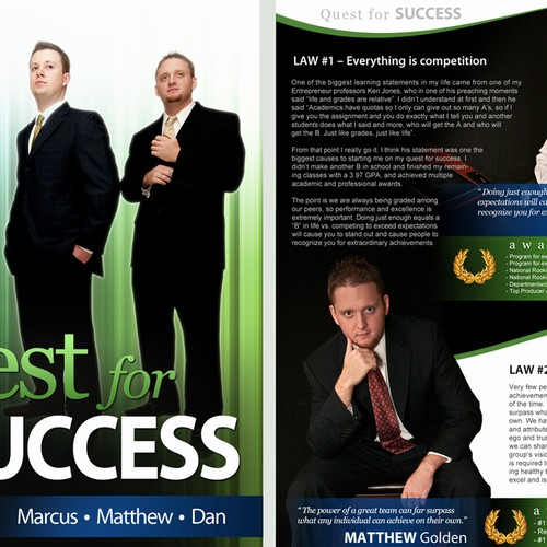 3 Page Magazine Article