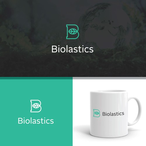 Logo for a company that wants to re-invent the plastics industry
