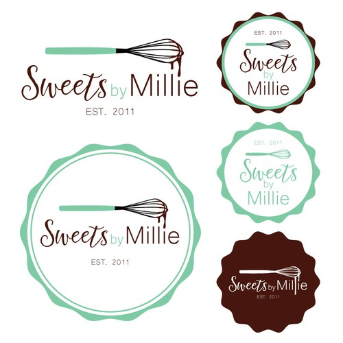 Scrumptious logo needed for a boutique bakery