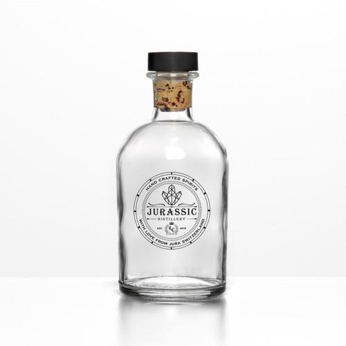 Jurassic Distillery Logo