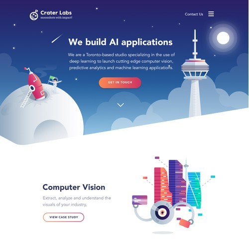 Craterlabs Illustration Website