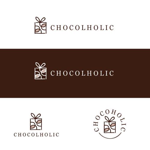 Chocoholic monthly subscription box- Logo Design