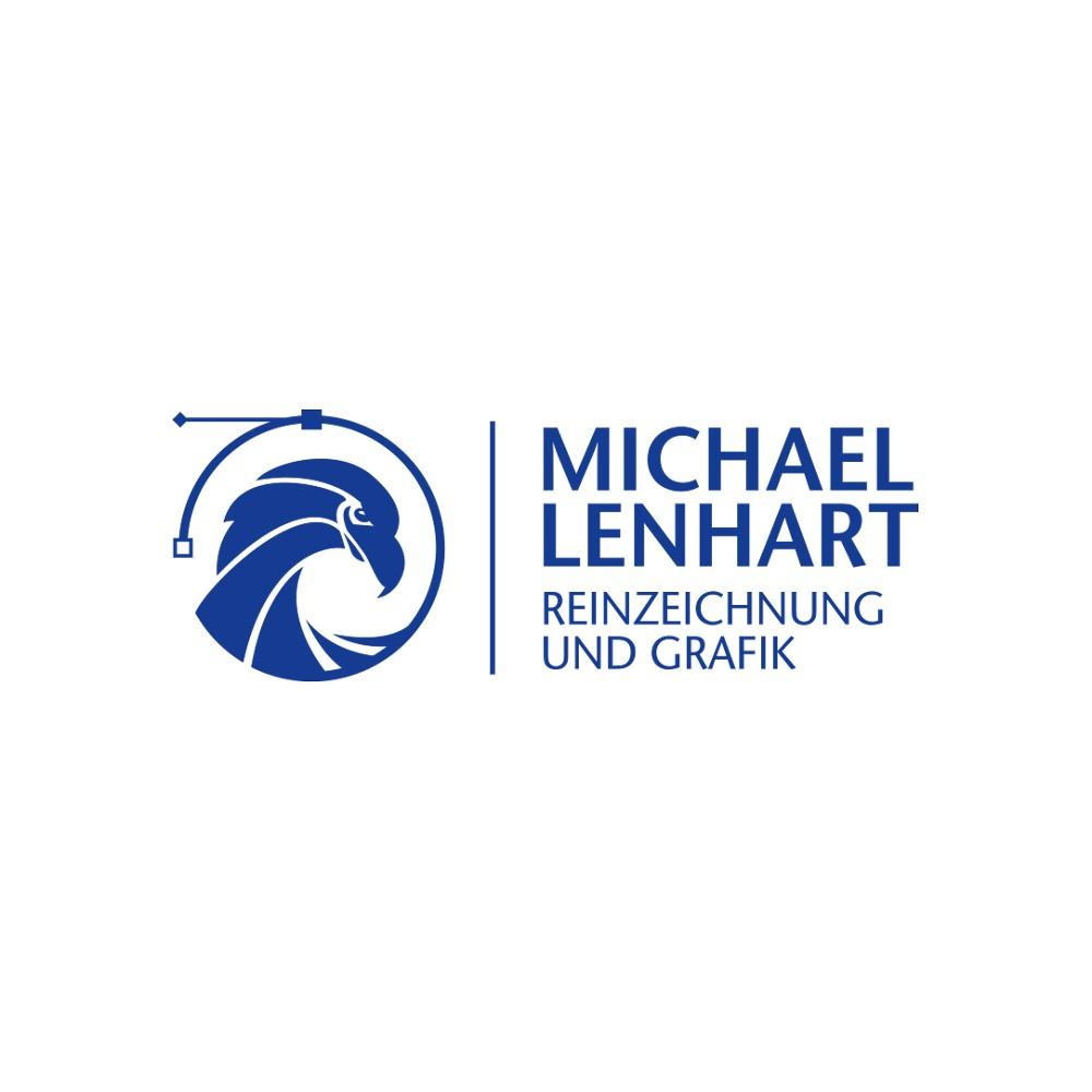 Der Reinzeichner Michael Lenhart benötigt aussagekräftiges Logo, das Moderne und Klassik verbindet.