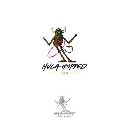 Hula hopped logo