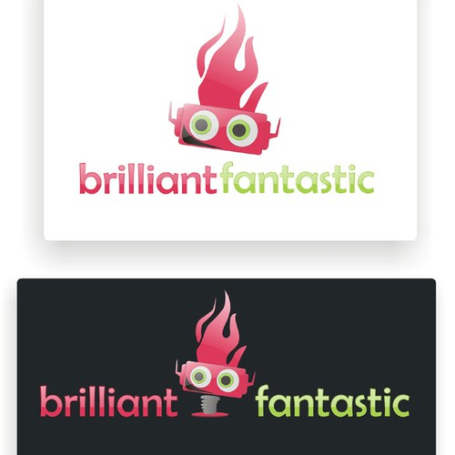 brilliant fantastic web page logo