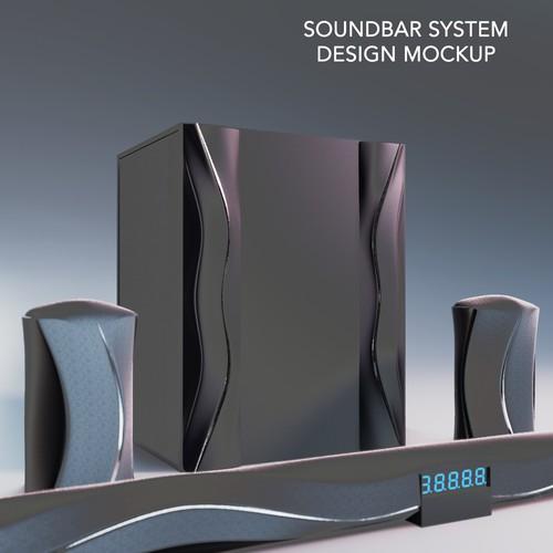 Modern Soundbar System