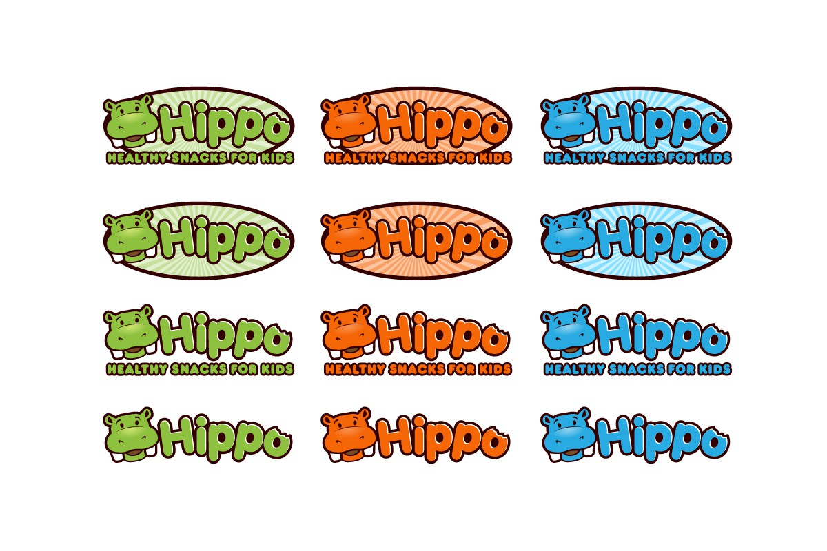 """New logo wanted for """"Hippo"""" healthy snacks for kids"""