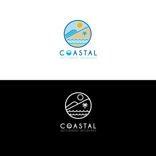 logo for beach coastal
