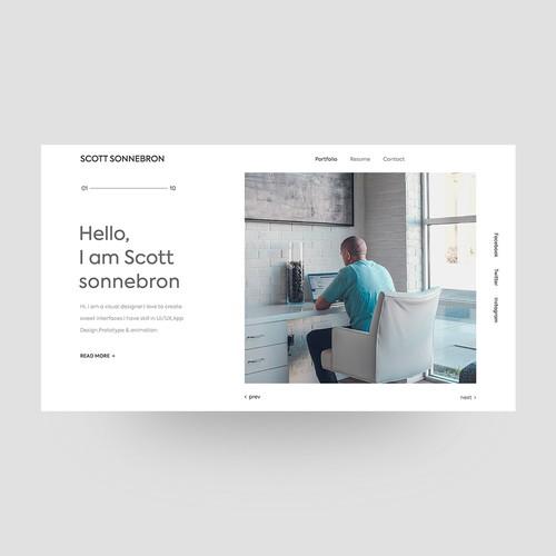 Personal Portfolio Concept