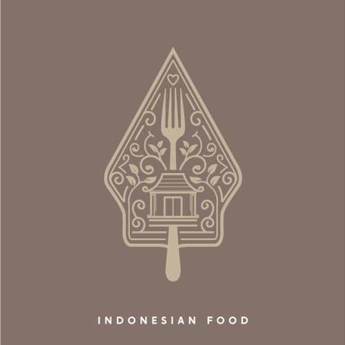 logo for indonesian restaurant