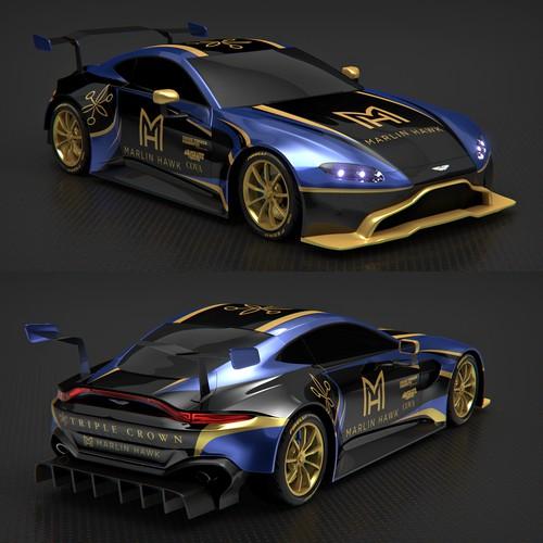 Aston Martin Vantage GT4 Race car