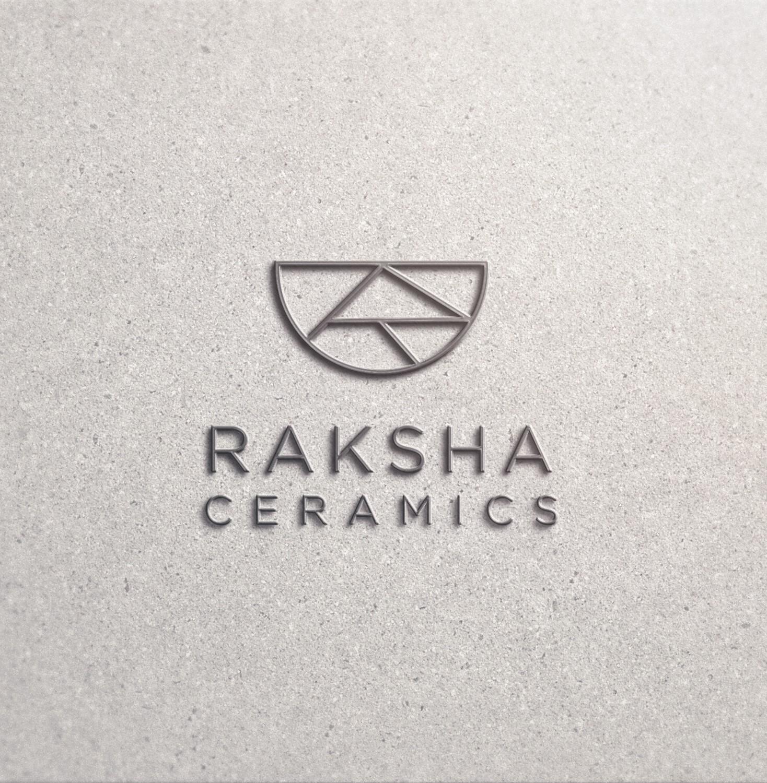 Design a logo for startup business Raksha Ceramics