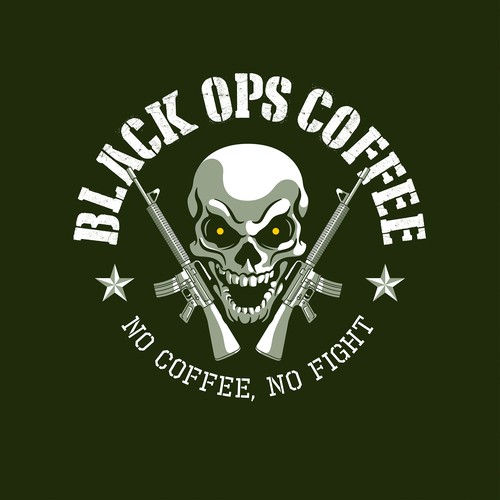 Black Ops Coffee Logo
