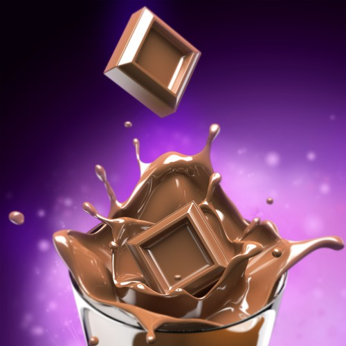 Chocolate Splash Rendering