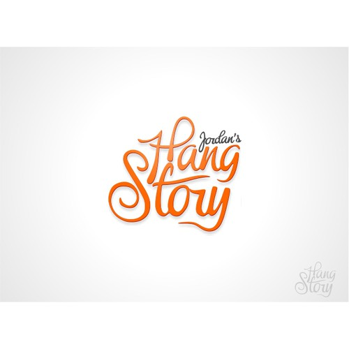 HANG STORY LOGO. Hang in there WORLD CHANGE.