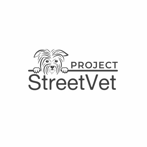 Logo design for Street Vet