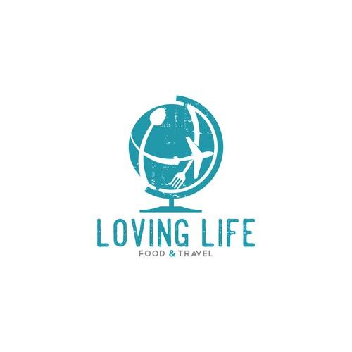 Loving Live Food & Travel Logo