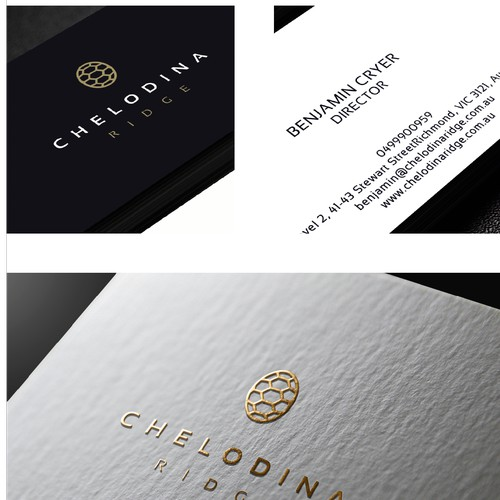 Chelodina Ridge's Logo and Brand identity