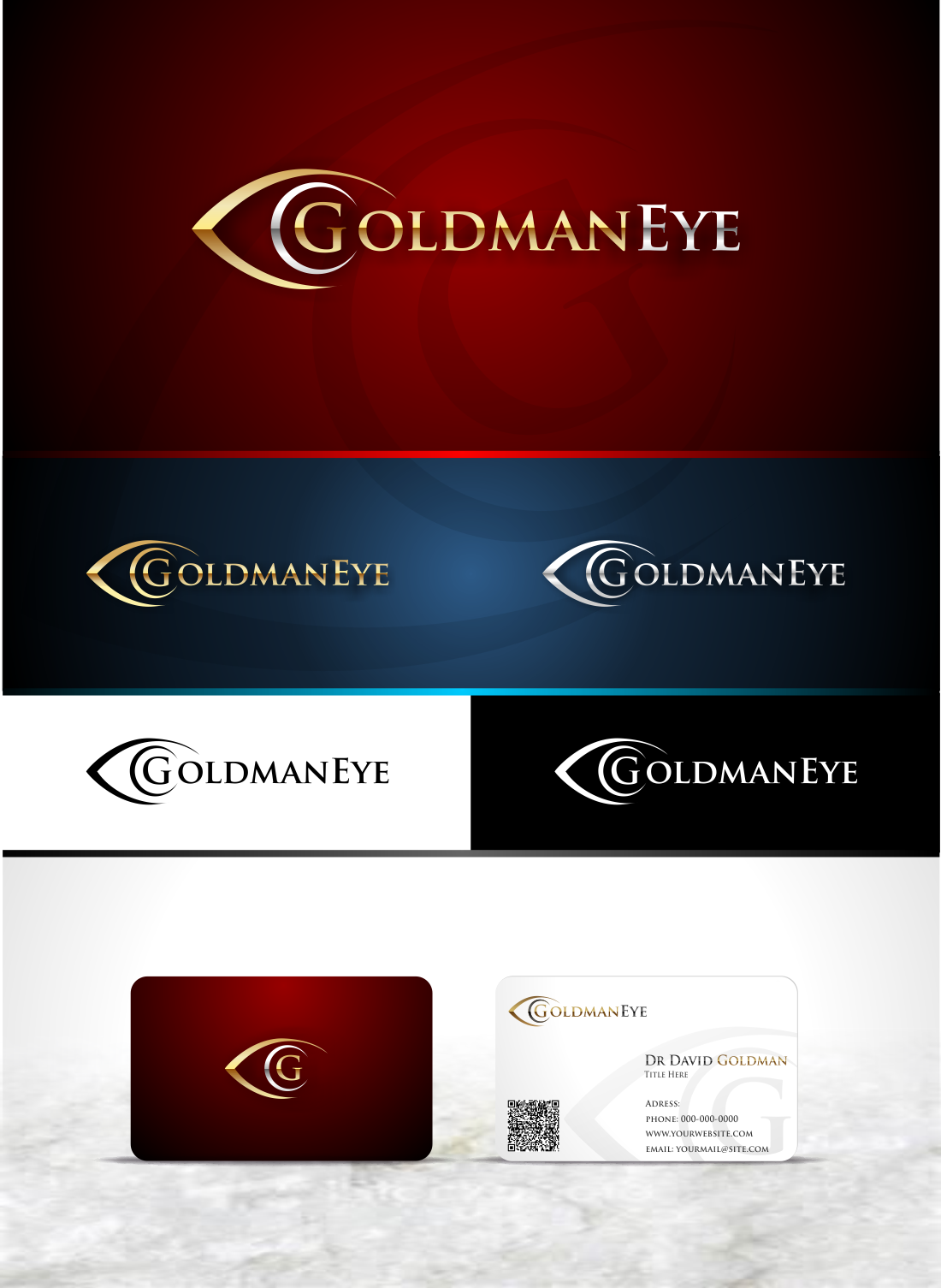 Help Goldman Eye with a new logo