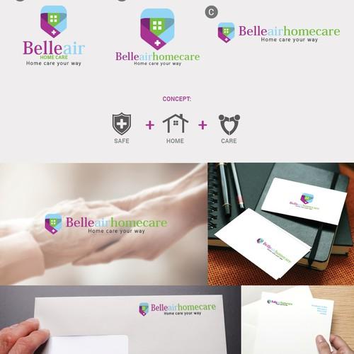 Logo design - Belleair Home Care