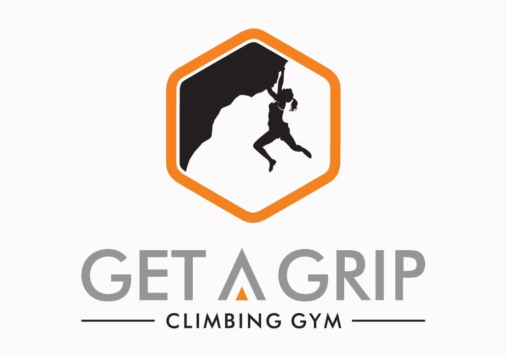 Design a hipster logo for Get A Grip Climbing Gym