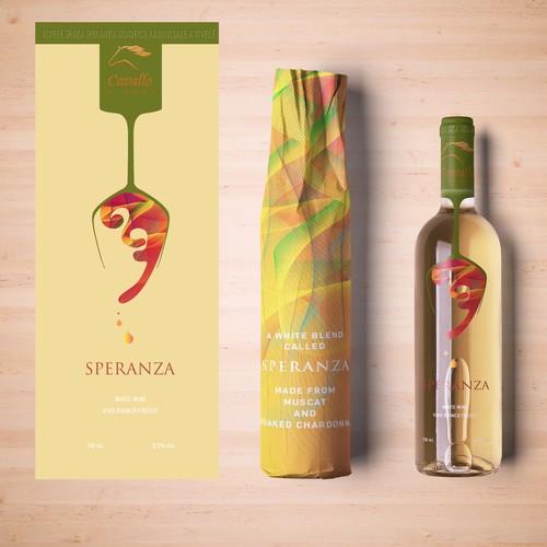 Speranza - white winw label