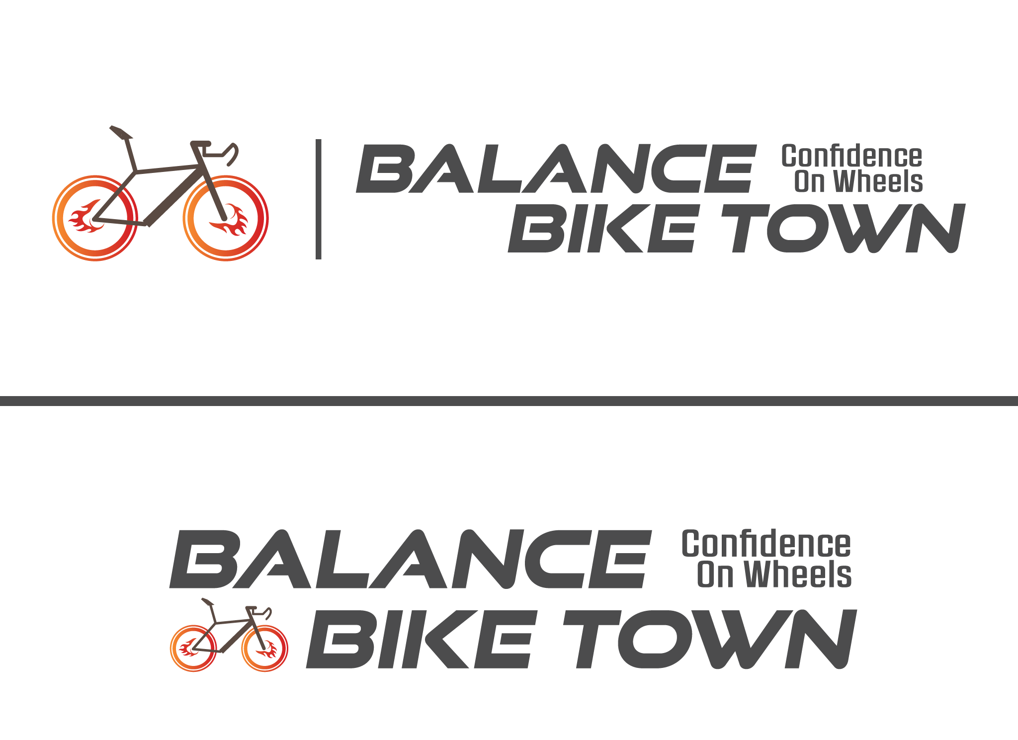 Logo creation for Balanced Bikes